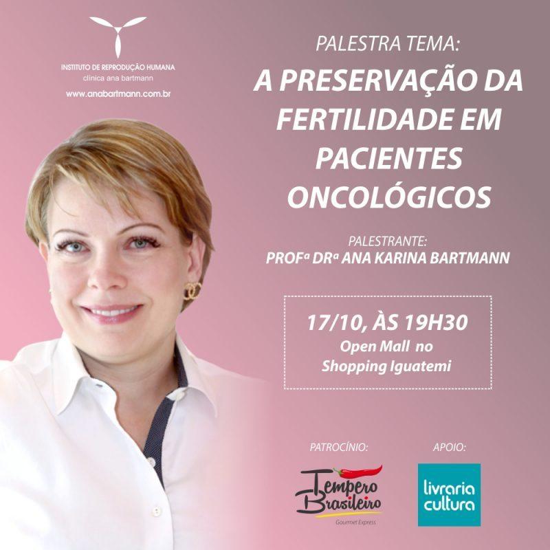 Preservação da fertilidade em pacientes oncológicos é tema de palestra em Ribeirão Preto